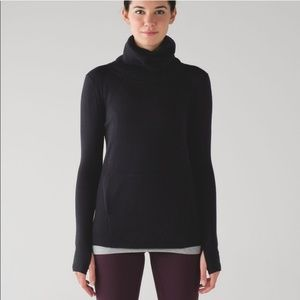 Lululemon Sweat and Savasana Turtleneck Sweater